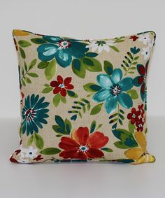 Look at this Piper Biscotti Indoor/Outdoor Throw Pillow on #zulily today!