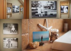 creative wall displays | get those photos off your hard drive! So many awesome ideas here...