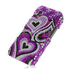 Crystal Bling Back Case for Samsung Galaxy Ace S5830 - Purple    ebay.co.uk Galaxy Ace, Computers, Laptops, Samsung Galaxy, Bling, Crystals, Purple, Ebay, Jewel