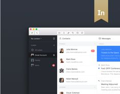 """Check out this @Behance project: """"Mailcube macOS App"""" https://www.behance.net/gallery/42913251/Mailcube-macOS-App"""