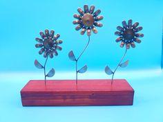 Metal Flower Art Set | Mother's Day/Valentine gift