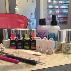 These are the products I use a lot in my salon #nailsbytracy #gel2educator #gel2 #geltwo #gelmani #nailpro #bestnailsinhighland #bestpedisinhighland #bestgelmaniinhighlandIN #bestgelnails #bestgelever #protipclips  #beachboardwalk