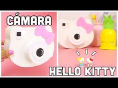 DIY Cámara HELLO KITTY-Regalo Fácil y bonito-manualidades KAWAII - YouTube