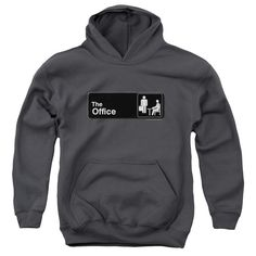 Office: Sign Logo Youth Hoodie