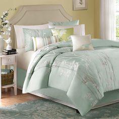 Athena 7-Piece Jacquard Comforter Set - Bed Bath & Beyond