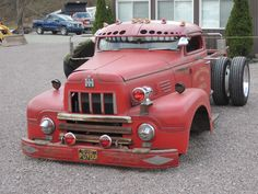 ih international rat rod truck
