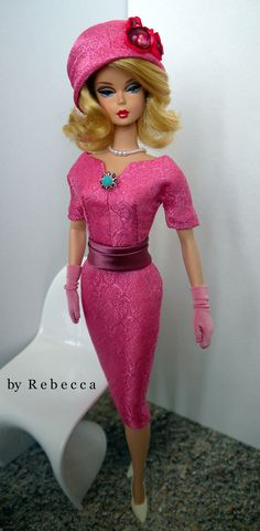 OOAK Fashion for Silkstone Barbie and FR by Rebecca. via Etsy.