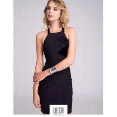 💄 Vestido de malha flat com detalhe em veludo. Lindo!!! . 💃🏽 Vem experimentar! . 📍Em todas as lojas. 📲 (62) 3241-3603 #Marista (62)3293-9777 #Campinas (64)3613-0818 #RioVerde . 📞 Liga agora, estamos cheias de novidades... #lueciamodafeminina #ootd #instafashion #moda #chic #glam #trend #summer17 #conjunto #tendencia #style #fashion  #Promoçao