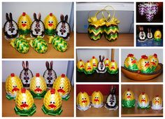 Easter Crafts, Christmas Crafts, Quilted Ornaments, Mish Mash, Egg Art, Kindergarten Activities, Holidays And Events, Easter Eggs, Origami