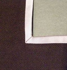 How to Miter the Inside Corner of a Hong Kong Finish - Threads Magazine article by Kenneth King