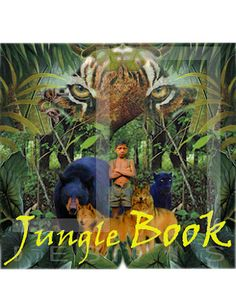 Concept poster for The Jungle Book