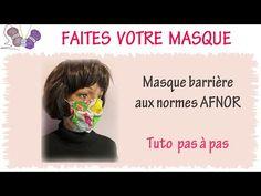 Masque en tissu triple épaisseur AFNOR - YouTube Couture Sewing, How To Plan, Youtube, Blog, Premier Ministre, Nespresso, Crochet, Scrap, Guy