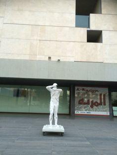 Escultura en el Museo de Almeria