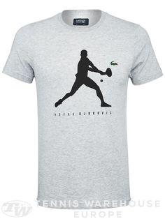 Novak Djokovic, Lacoste Men's Shadow ND T-Shirt