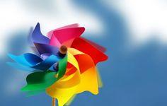 Beautiful Color Windmill Wallpaper 1920×1200