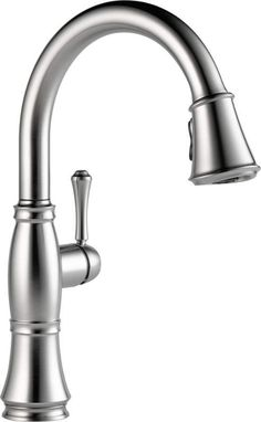 View the Delta 9197-DST Cassidy Pull-Down Kitchen Faucet with Magnetic Docking Spray Head - Includes Lifetime Warranty at FaucetDirect.com.