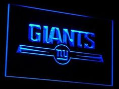 New York Giants sign only $21.99 and free shipping. Buy Now!!-----> http://ledsignlights.com/product/new-york-giants-led-sign-light-nfl/     Excellent for displaying in your shop, bar, pub, club, restaurant, room for a birthday, graduation, wedding, anniversary etc.. and anywhere you like?    Approximate size: W: 300mm x H: 200mm.