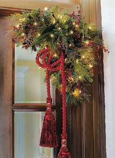 Accent entryways, mantels, mirrors, and everything else needing a dash of greenery this holiday season.