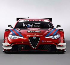 Alfa Romeo Giulia in Touring Car Racing Trim Alfa Romeo 4c, Alfa Romeo Giulia, Alfa Romeo Cars, Bugatti, Maserati, Ferrari, Martini Racing, Henry Ford, Car Wheels