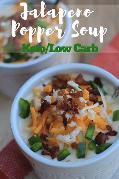 """Jump to Recipe Print Recipe TweetEmail TweetEmail Share the post """"Jalapeno Popper Soup Keto/Low Carb {Instant Pot or Crock Pot}"""" FacebookPinterestTwitterEmail As the weather is cooling down here in Tennessee, I've been craving soup. I love that soup is generally a one pot meal, and I typically make enough so that I have enough forcontinue reading..."""