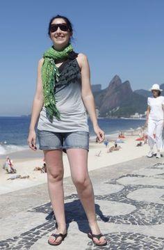 Orla carioca - Verão 2012