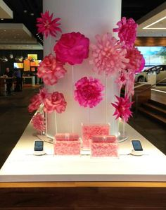 AT&T MOTHERS DAY PAPER FLOWERS