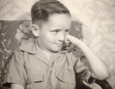 Charles Manson as a young boy.