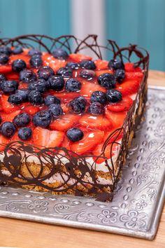 Fruit Salad, Waffles, Birthday Cake, Cooking, Breakfast, Cakes, Food, Food Cakes, Deserts