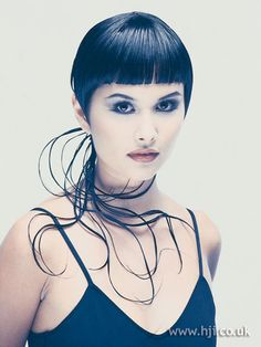 1995 multiple ponytails hairstyle        Hairstyle by: Trevor Sorbie  Salon: Trevor Sorbie Professional  Location: Covent garden