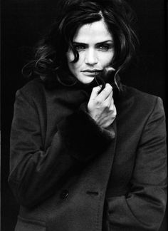 Helena Christensen photographed by Peter Lindbergh