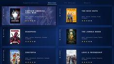 Daily UI / TV App designed by Matteo Mapelli. the global community for designers and creative professionals. Jungle Book 2016, 20 Tv, Gnu Linux, Tv Show Music, Tv App, Books 2018, Behance, Daily Ui, Captain America Civil War