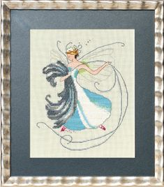 """This is a complete kit and includes 32ct French Lace linen, 13 skeins of Classic Colorworks hand dyed floss, 4 pks of Mill Hill beads, 2 spools of Kreinik metallic braid, chart (11"""" x 17"""" cardstock, folded) and needle."""