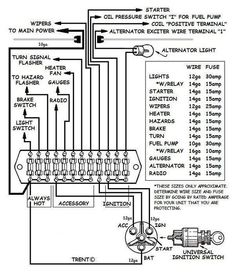 Ignition and charging system diagram | BAJA BUGS