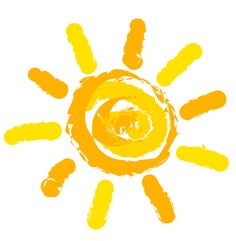 Illustration of Sun symbol illustration vector art, clipart and stock vectors. Funny Happy Birthday Messages, Images Of Sun, Symbol Drawing, Sun Drawing, Sun Illustration, Summer Slide, Summer Sun, Sun Photo, Sun Art