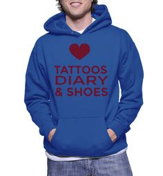 Tattoos Diary & Shoes Hoodie