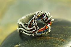 Funky wrap ring