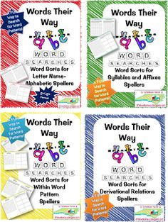 Word Study Routine and Tips~Words their Waylifeloveliteracy 3rd Grade Spelling, 3rd Grade Words, Sight Word Spelling, Spelling And Grammar, Third Grade, Grade 3, Spelling City, Word Study Activities, Spelling Activities