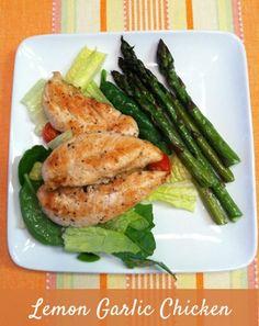 Lemon Garlic Chicken (using Tessemae's) == The Gluten Free Homemaker