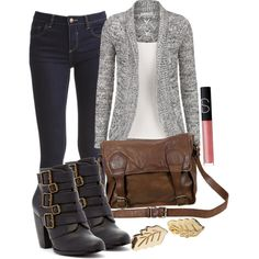 Elena inspired outfit by tvdstyleblog on Polyvore featuring VILA, Michael Antonio, VIPARO and NARS Cosmetics