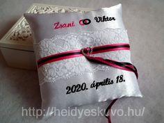 Hímzett esküvői gyűrűpárna Throw Pillows, Toss Pillows, Cushions, Decorative Pillows, Decor Pillows, Scatter Cushions