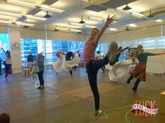 """""""We're dancing into rehearsals with leaps and lifts. Stay tuned for more shots of life behind-the-scenes of a #Broadway show. #tuckeverlasting"""""""