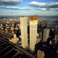 Twin Towers under construction, 1971: Henry Groskinsky—Time & Life Pictures/Getty Images