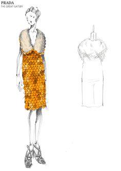 """Miuccia Prada diseña los vestuarios para la película """"The Great Gatsby"""""""