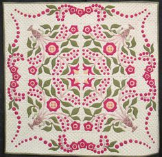 More Reproduction Quilts in Houston Quilt Market 2012 - Little Lily by Georgann Wrinkle