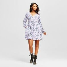Women's Printed Dress - Xhilaration™ (Juniors')