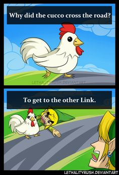 Cucco Crossing by Lethalityrush on DeviantArt