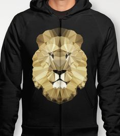 Polygon Heroes - The Kingdom - The King - Hoodie available at Society6.com and PolygonHeroes.com from $42.00