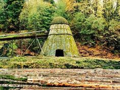 Teepee burner ..  Days gone by!