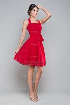 A-Line/Princess Halter Chiffon Prom Dress - IZIDRESS.com at IZIDRESS.com