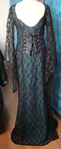 LIP SERVICE Dusk Till Dawn long dress #77-122